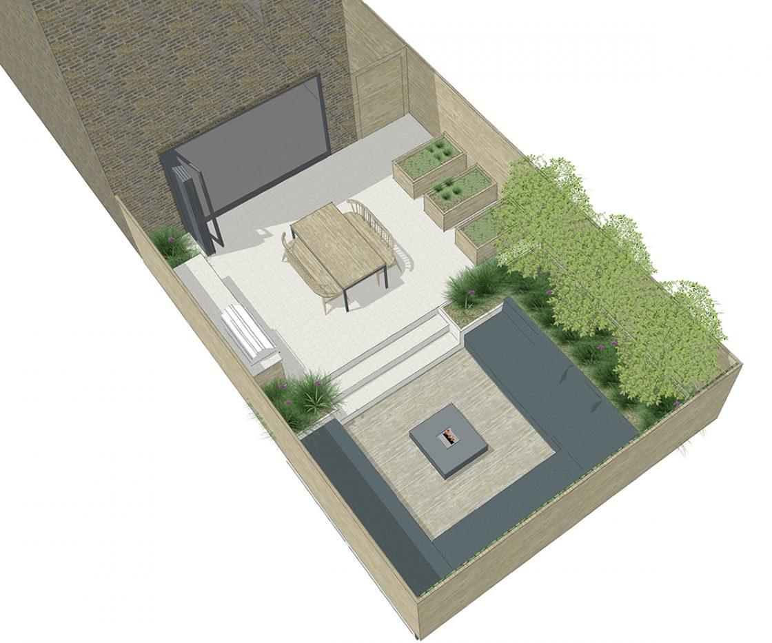 Courtyard Garden Studio 31 Landscape Design For Small Spaces